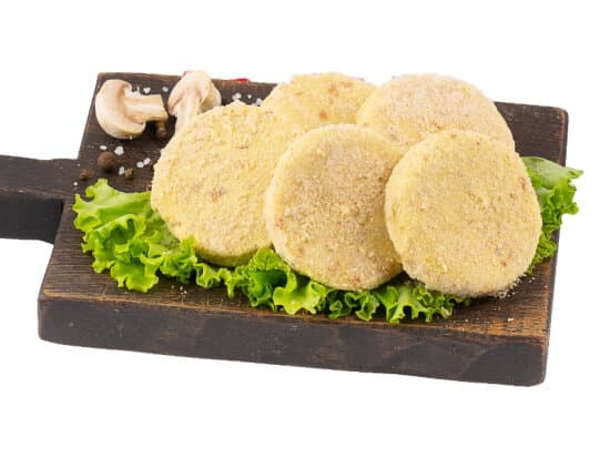 Котлеты картофельные с грибами постные