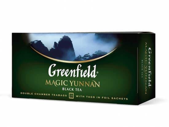 Чай Гринфилд Magic Yunnan (дымный аром.+чернослив) 100 пак.