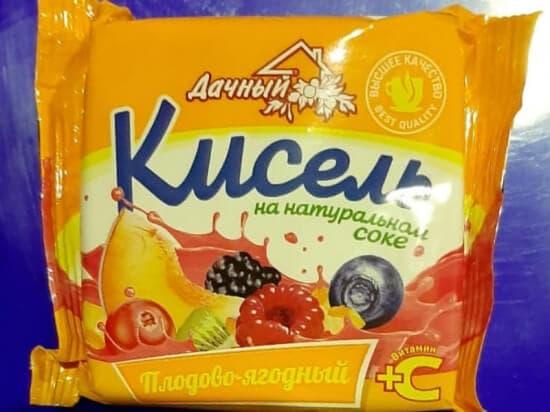 """Кисель """"Вокруг света"""" плодово-ягодный 220гр."""