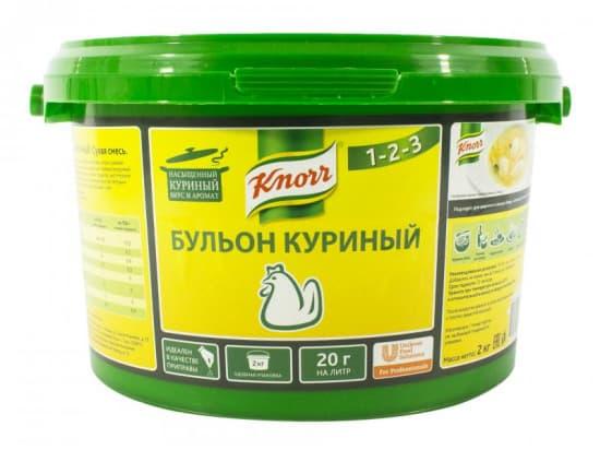 Бульон куриный  KNORR 2кг