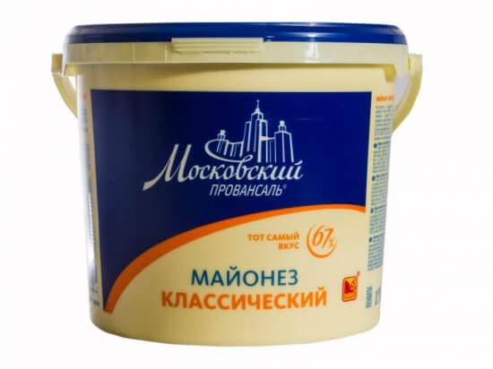 Майонез МЖК Провансаль 67% 9,6 кг