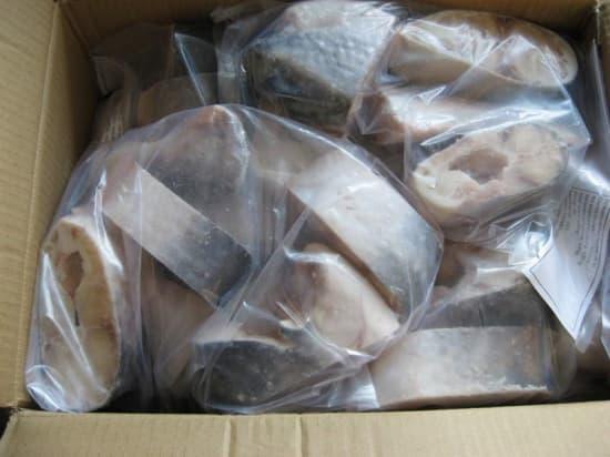 Стейки пангасиуса фас.1 кг