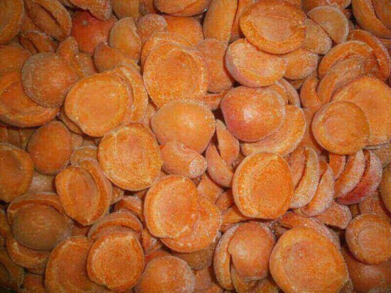 Персик дольки замороженный