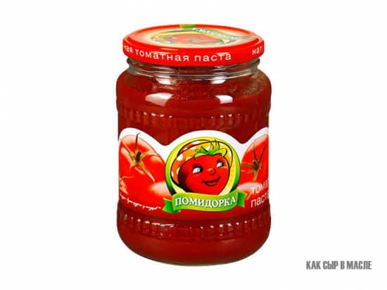 "Томатная паста ""Помидорка"" 770 гр."
