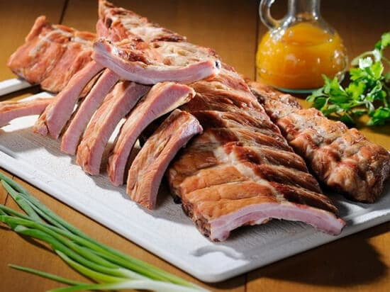 Ребра свиные в\к