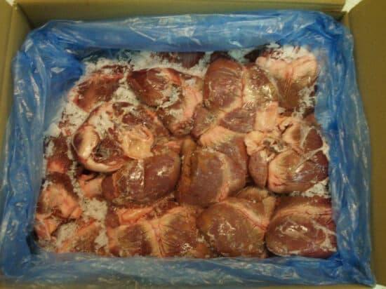 Сердце свиное замороженное