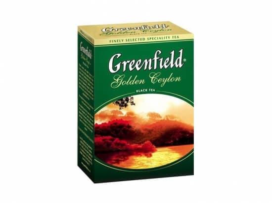 Чай Гринфилд GOLDEN CEYLON (цейлонский)200гр*1шт