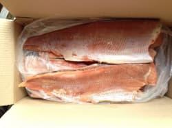 Филе горбуши без кожи фасованное 1 кг