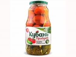 """Ассорти """"Кубань"""" (огурцы+помидоры)1800гр."""