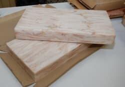Филе минтая без кожи сухая заморозка 3 блока