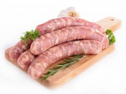 Колбаски для жарки замороженные 0,6 кг
