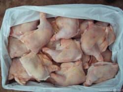 Окорочка куриные сухой заморозки