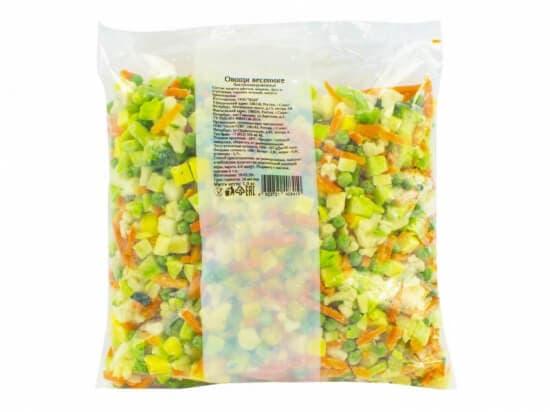 Весенние овощи замороженные фас.400гр.