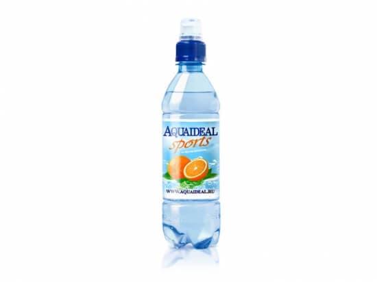 "Вода""АкваИдеал""Спорт апельсин*0,5 л"