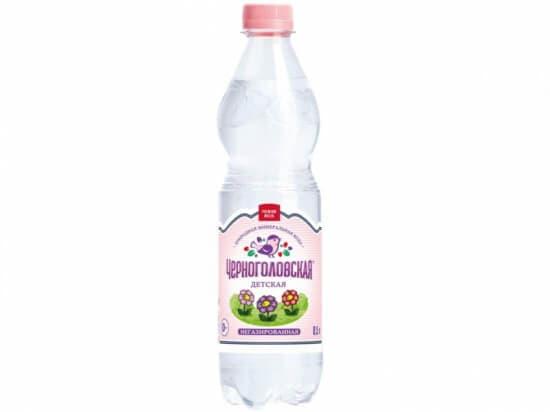 """Вода""""Черноголовская""""детское питание без газа *0,5 л"""