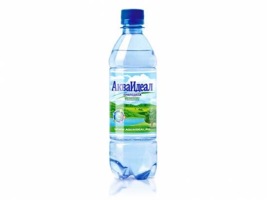 "Вода""АкваИдеал""Спорт газ.*0,5 л"