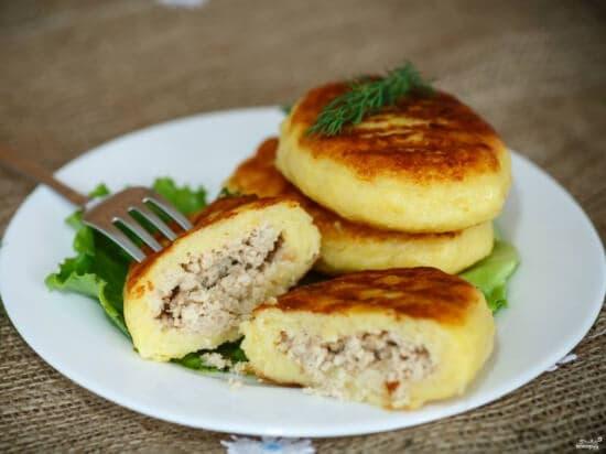 Зразы картофельные с мясом 600 гр